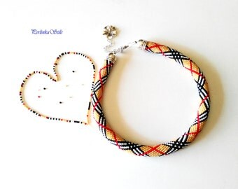 "Necklace style ""Burbery/Necklace of beads/necklace classik/necklace-style"" Burbery ""beaded/collana/necklace"