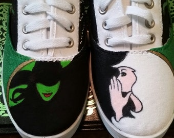 Hand painted Wicked shoes!