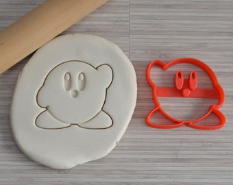 Kirby cookie cutter (from the videogame)