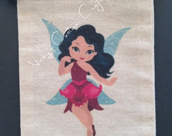 ON SALE 10% OFF - Fairy Party Bags (set of 5 bags)