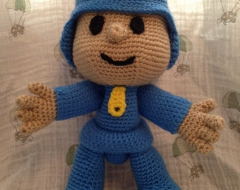 MADE TO ORDER - Pocoyo inspired doll