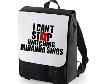 I can't stop watching Miranda Sings Backpack BAGBASE