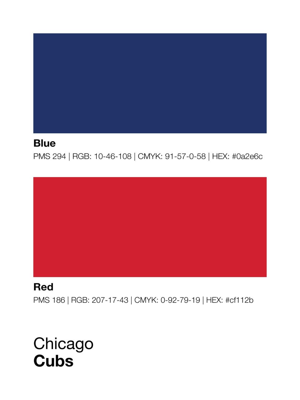 Chicago Cubs Paint Colors