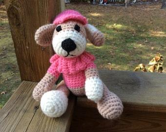 Pretty in pink puppy