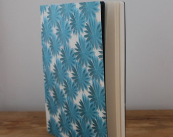 blue flowers Illustrated Notebook