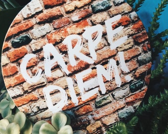CARPE DIEM! sticker