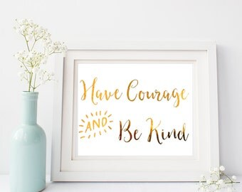 Cinderella - Have Courage & Be Kind - Nearly Perfect - Real Foil