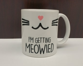 I'm getting Meowied coffee mug
