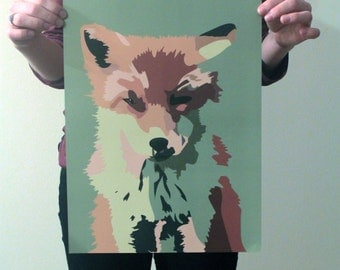 Friday the Fox Print