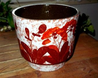 RETRO Plant/flower Pot by Marei Ceramic 1960/70s West German Pottery Classic