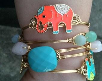 Elephants on Parade bangle