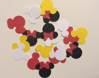 Minnie Mouse Red Party Confetti