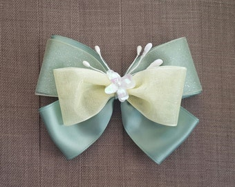 Disney Inspired Princess Tiana Hair Bow