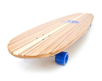 White Wave Bamboo Chief Longboard