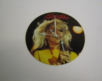 Blondie Record Wall Clock