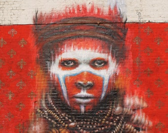 "Graffiti ""DaleGrimshaw"" Large Poster, Graffiti Print, Street Art London, Graffiti Art, Graffiti Wall Decor"