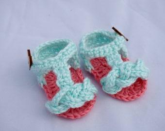 Crochet Braided Sandals