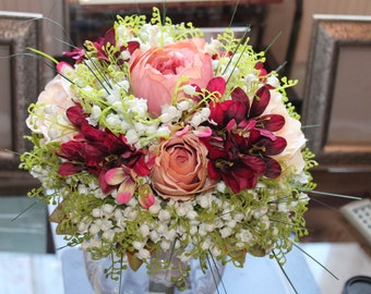 LILY OF VALLEY Bridal Bouquet