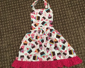 Julia girl's apron
