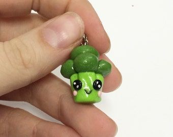 Kawaii Broccoli Charm