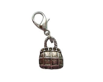 Handbag pendant of charms charm bracelet change pendant nickel free