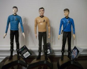 Star Trek Figures, set of 7