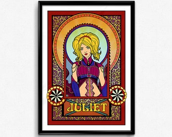 Juliet Starling - Lollipop Chainsaw // Physical Poster, Lollipop Chainsaw Juliet, Juliet Lollipop Chainsaw, Lollipop Chainsaw Poster