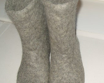 Felted slippers Women, women felted house shoes , handmade felt slippers, Eco,wool boots,