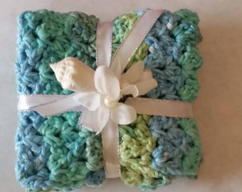 100% USA grown cotton washcloths.