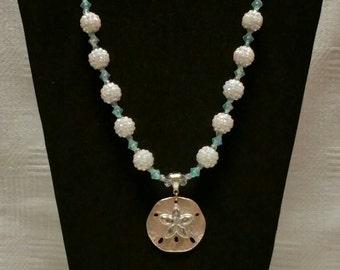 Sand Dollar Pendant Necklace