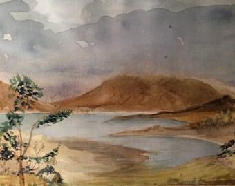Loch Shielding & Beinn Alligan in Scotland