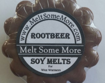 Soy Wax Melts Rootbeer scented tart melts for warmers