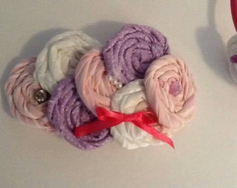 2-pc Set *Big sis Lil Sis Headbands. Pinks/Purple/White (Free Shipping within US)