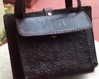 Preaching Artisan Leather Purse Adjustable