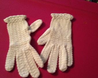 Lovely set of vintage ivory gloves