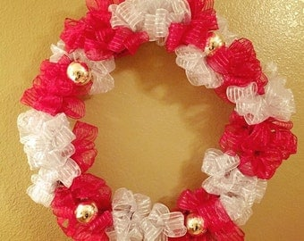 Ribbon Wreath (20 inches)