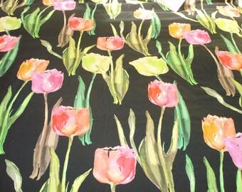 Fabric tulips / tulipes