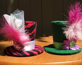 Custom Mini Top Hat: Set of 2