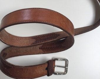 Vintage Wrangler Belt Large Men's