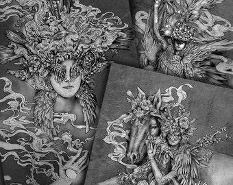 Life Series - Four Prints