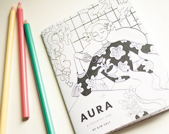 Aura – A magical ladies coloring zine