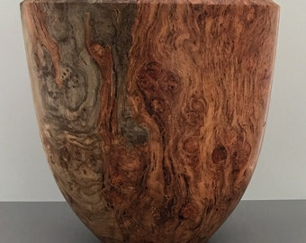 Big Leaf Maple Burl Bowl - #621