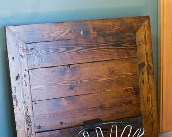 Rustic Basketball Backboard & Rim