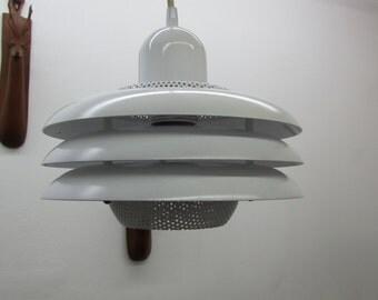 Vintage Modern 1960's Danish Pendant Light By Luminattica
