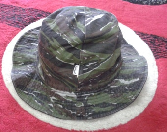 vintage beams bucket hats camouflage reversible