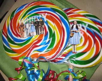wizard of oz jumbo lolly pop gifts/costume prop.