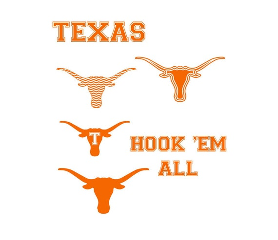 university texas longhorns logo svg and dxf by