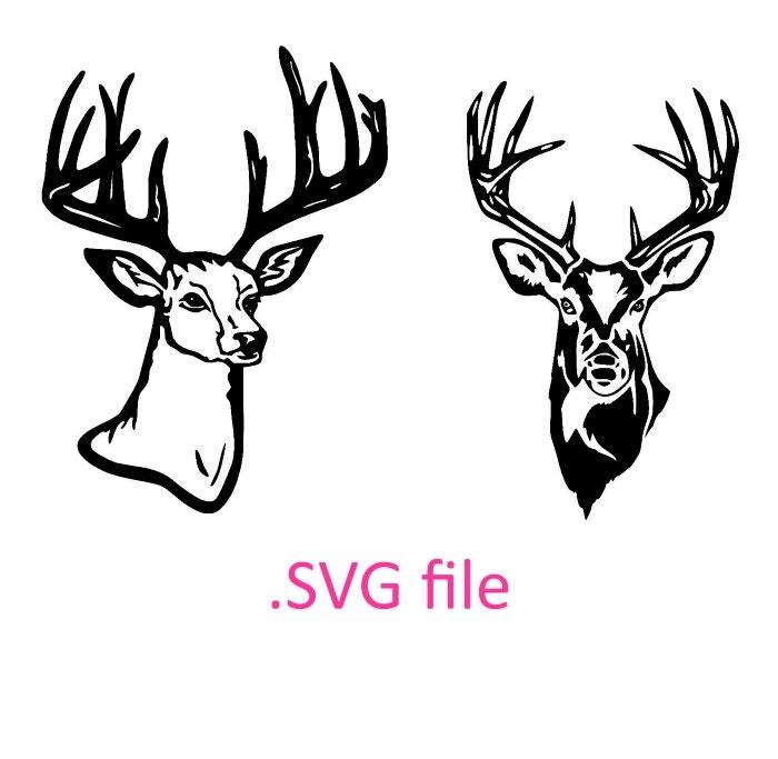 Download deer head svg design buck head design svg by OhThisDigitalFun