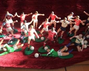 Collectiion of 22 Tonka Football Players inc Merson, Rush, Gascoigne & More