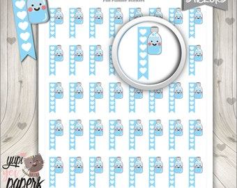 Hydrate Stickers, Planner Stickers, Hydrate Planner Stickers, Hydration Trackers, Water Trackers, Daily Hydrate Stickers, Hydrate x 6